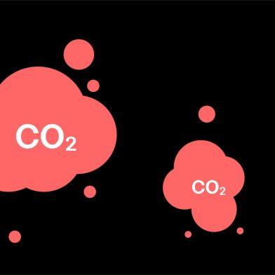 CO2 bobler